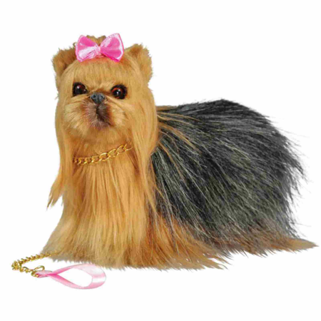 18  Doll Yorkie Puppy Pet Dog For 18  Doll With Accessories Dog  Leash And Collar