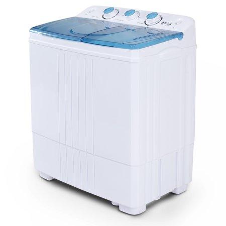 Della Small Compact Portable Washing Machine 11lbs Capacity ...
