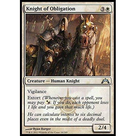 Magic The Gathering Knight Of Obligation 18 Gatecrash