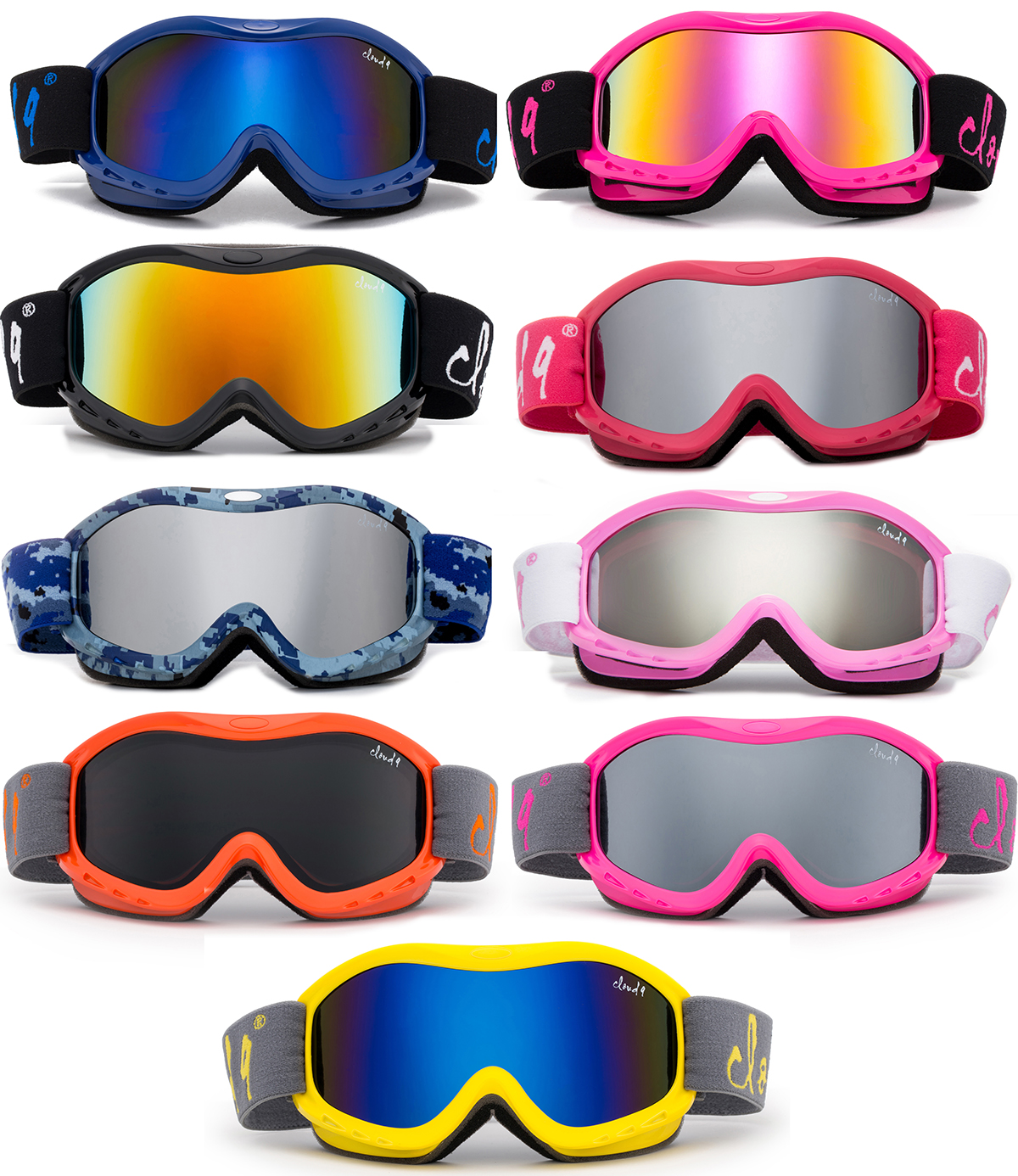 snowboard Goggles for Children outdoor sports Snow goggle SKI Goggles for kids
