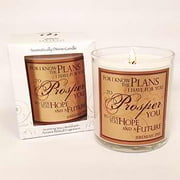 "Candle-Pomegranate-For I Know The Plans (3"")"