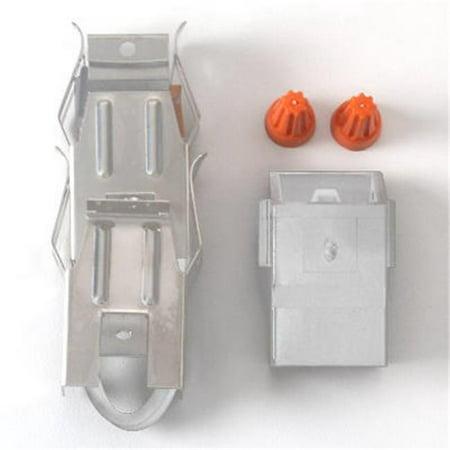 RTA1-1000 2 Mounting Brackets Receptacle Block