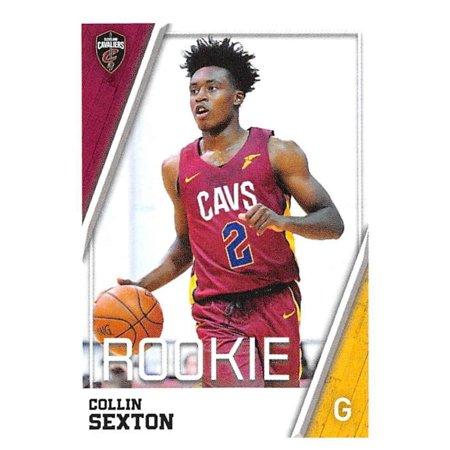 2018-19 Panini NBA Stickers #87 Collin Sexton Cleveland Cavaliers Rookie Basketball Sticker