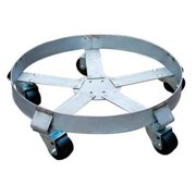 6FVH9 Drum Dolly, 1100 lb., 6-1 2 In H, 55 gal. by VALUE BRAND