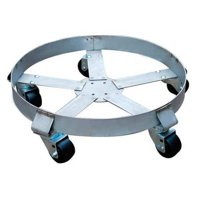 Drum Dolly,1100 lb.,6-1 2 In H,55 gal. ZORO SELECT 6FVH9 by VALUE BRAND