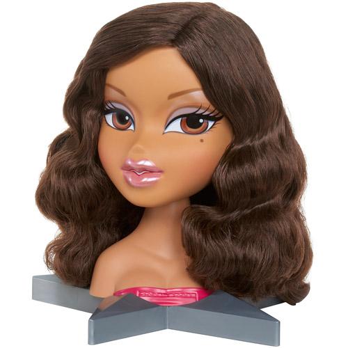 Bratz All Glammed Up Yasmin Styling Head Doll