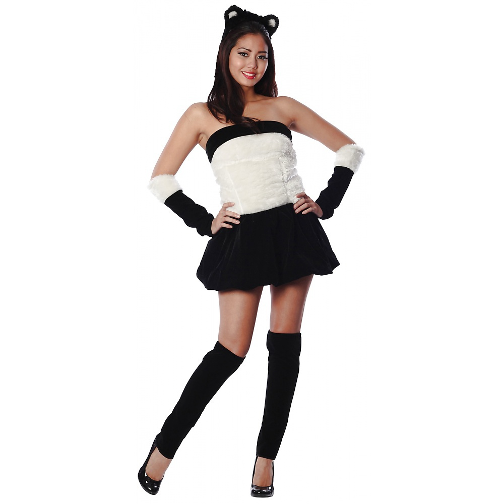 Panda Babe Adult Costume - Small/Medium
