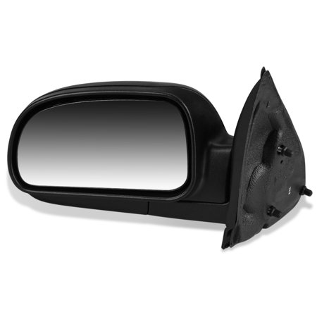 For 2002 to 2008 Chevy Trailblazer GMC Envoy Buick Rainier Isuzu Ascender Oldsmobile Bravada OE Style Manual Driver / Left Side View Door Mirror 15789780 03 04 05 06 07 (2008 Tahoe Driver Side Mirror)