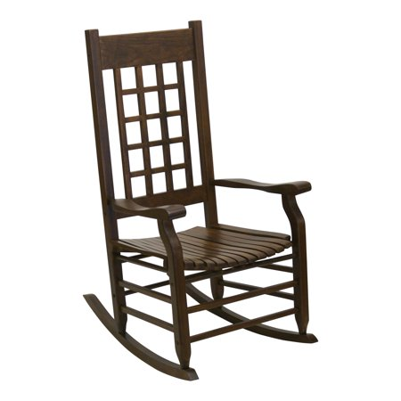 Terrific Hinkle Brookfield 1900 Lattice Back Wood Patio Rocking Chair Frankydiablos Diy Chair Ideas Frankydiabloscom