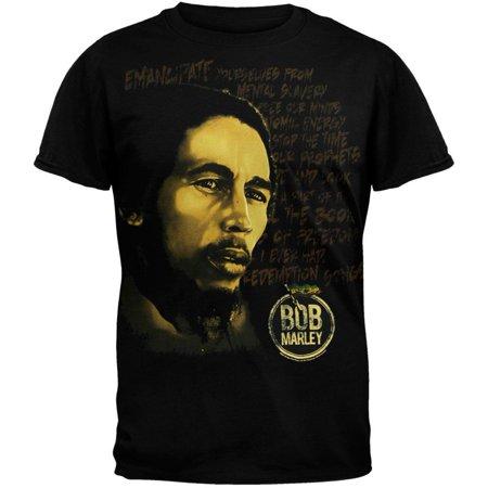 Bob Marley - Redemption Black T-Shirt