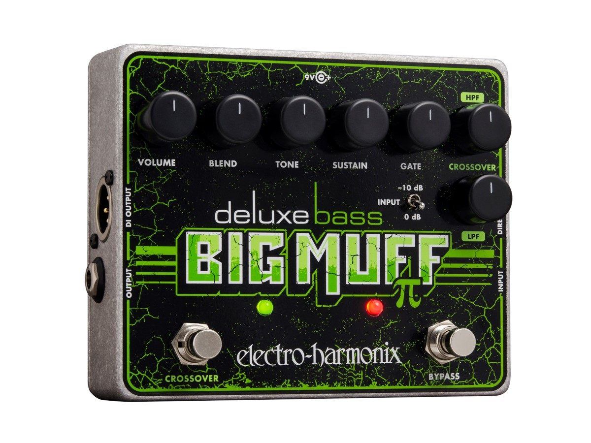 Electro Harmonix Deluxe Bass Big Muff Pi Distortion Pedal by ELECTRO HARMONIX