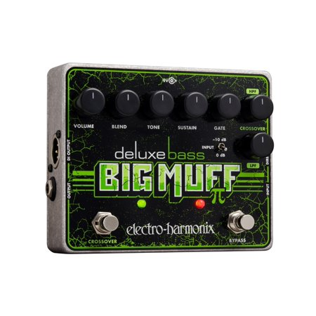 Electro Harmonix Deluxe Bass Big Muff Pi Distortion (Best Big Muff Pedal)