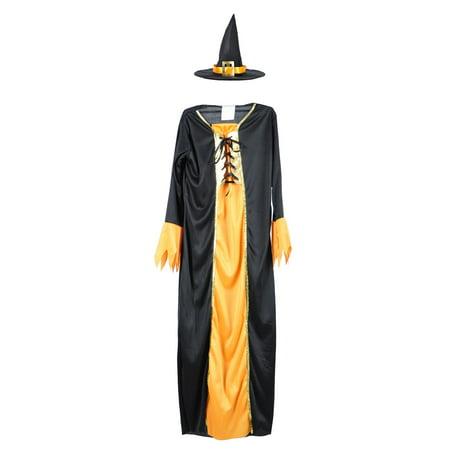 Witch Doctor Cosplay (Kids Girls Halloween Cosplay Fancy Dress Witch Costume w/)