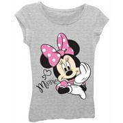 0f1bd54d9f38 Disney Minnie Girls Princess Tee Graphic T-Shirt