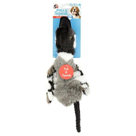 Logical Pet Pull Amp Squeak Goose Dog Toy 1 0 Ct Walmart Com