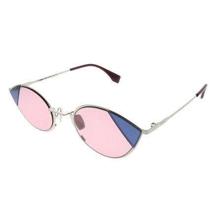 Fendi Cut Eye FF 0342/S Silver Pink/Pink 51/23/140 Women Sunglasses