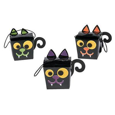 Halloween Treat Box Craft Kit 2PK - Easy Halloween Crafts And Treats