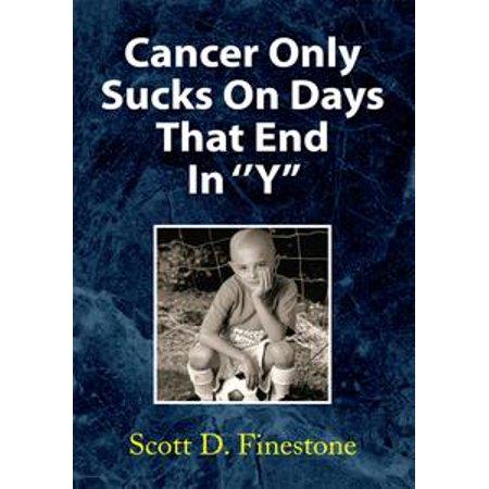 Cancer Only Sucks on Days That End in ''Y'' - eBook - Cancer Sucks Bracelets