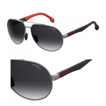 Carrera CA 8025 Sunglasses 0R80 Semi Matte Dark (Dark Ruthenium Matte)