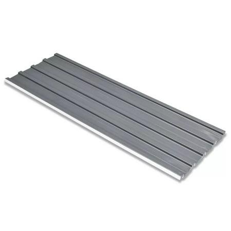 Yosoo Roof Panels 12 pcs Galvanized Steel Gray