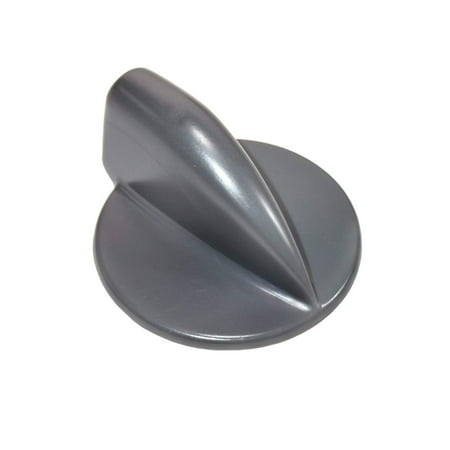HQRP Gray Duet Washer Dryer Control Knob Replacement for Whirlpool Kenmore 8182050 WP8182050 AP3181683 AP6011755 1017594 3980094 46197020742 AH885408 EA885408 PS11744954 plus HQRP