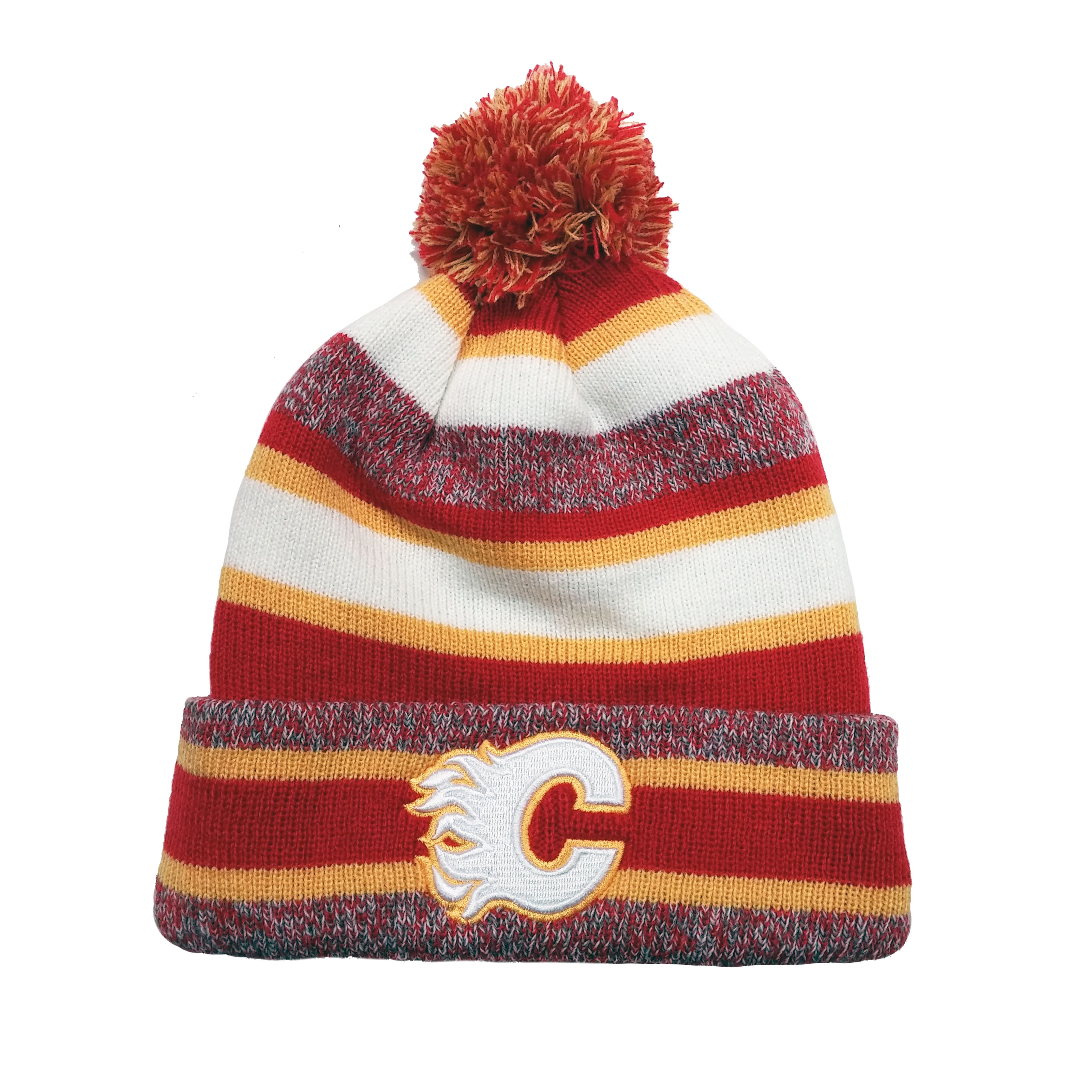 more photos 0e34b 2892a CCM Calgary Flames Vintage Fleece Pom Toque | Walmart Canada