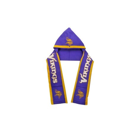 Minnesota Vikings Official Nfl Hoody Scarf By Forever Collectibles 696138