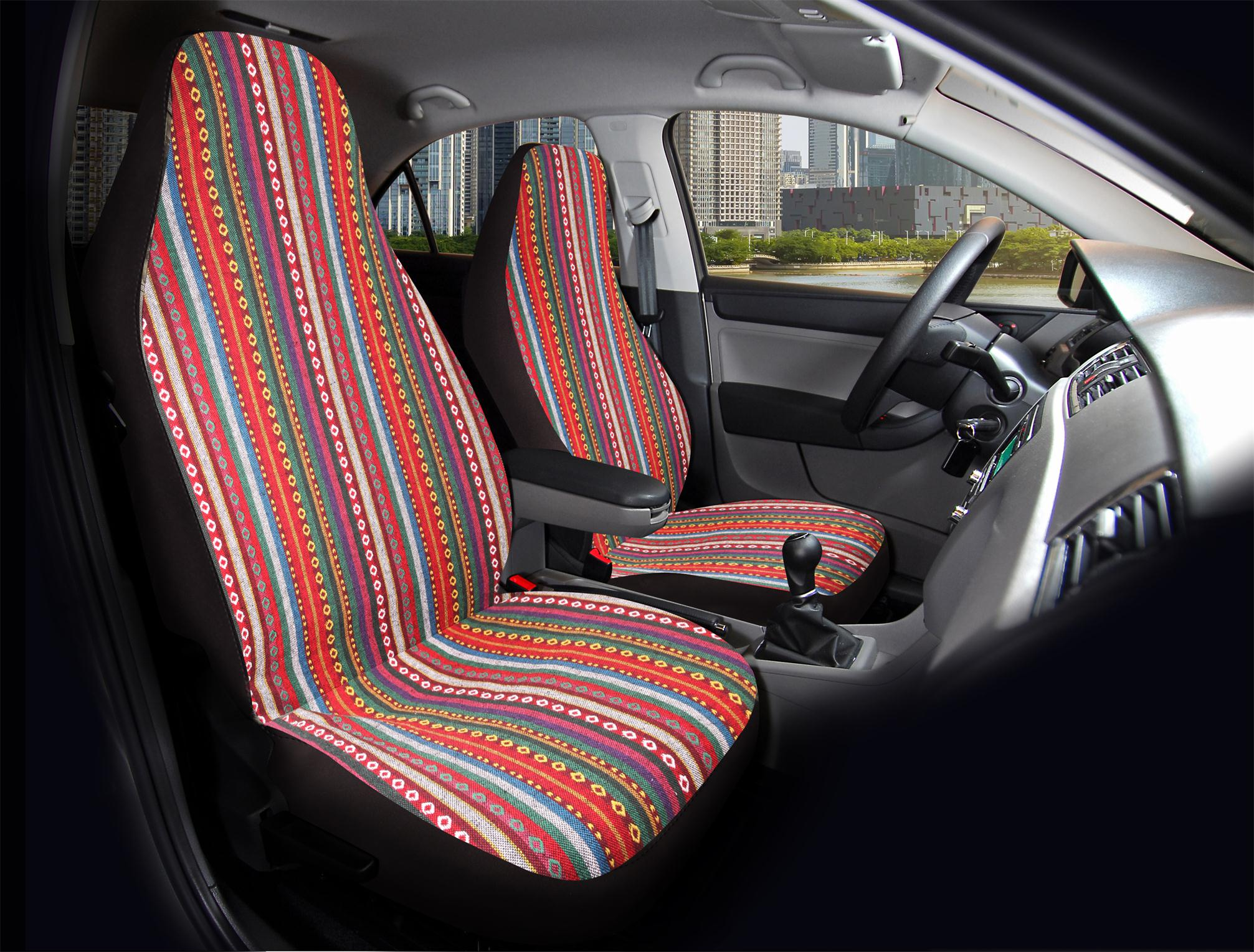 Protectors 1+1 Top Quality Universal Audi A3 Car Heavy Duty Seat Covers