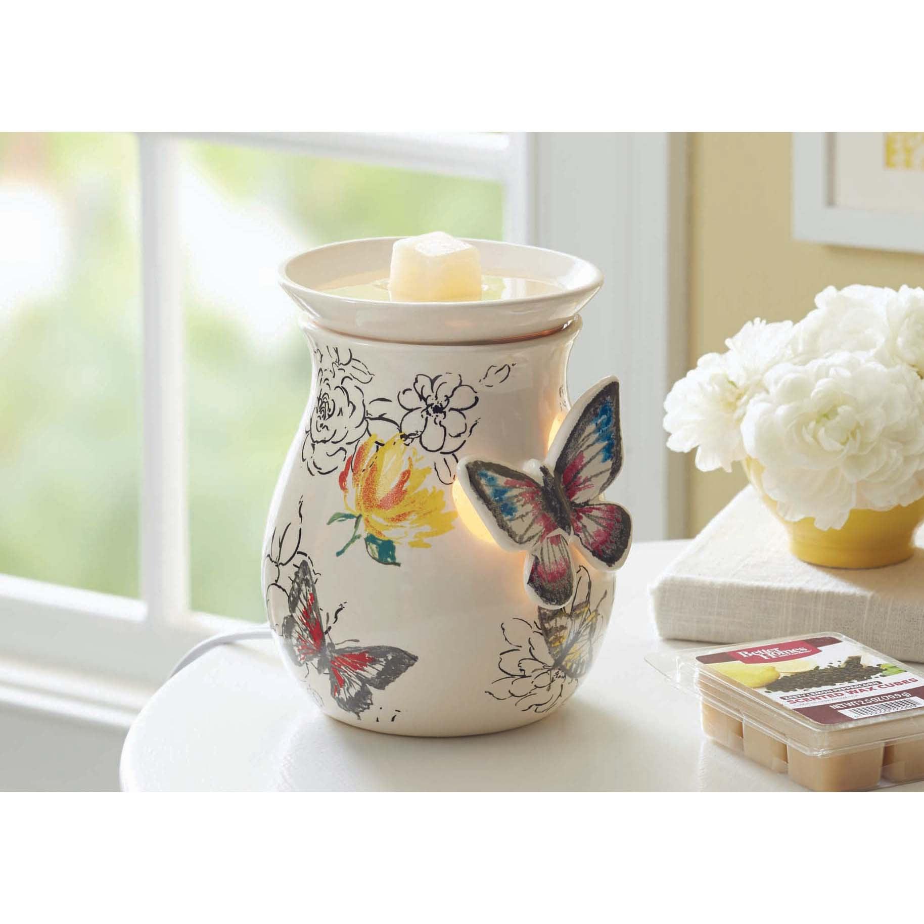 Better Homes and Gardens Full-Size Wax Warmer, Butterflies