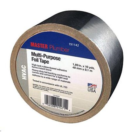 Berry Plastics Tapes-Coating 191142 Ruban en aluminium pour plombier MP 1,89 po x 10 m-tres - image 1 de 1