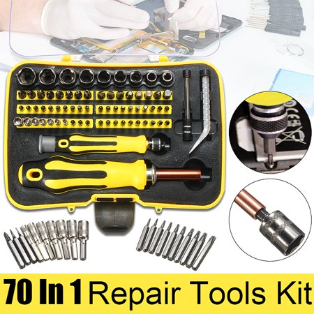 70 In1 Precision Screwdriver Set Repair Tools Kit For Mobile Phone PC Tablet Watch Opener Pins Link