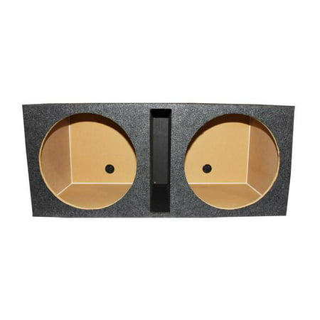 QPower QBASS Dual 15-Inch Vented MDF Subwoofer Box 2 Speakers Enclosure ()