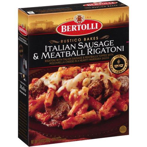 Bertolli Rustico Bakes Italian Sausage & Meatball Rigatoni, 10.9 oz