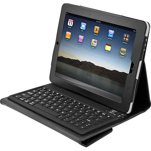 TG Bluetooth Keyboard and Protective Case for iPad