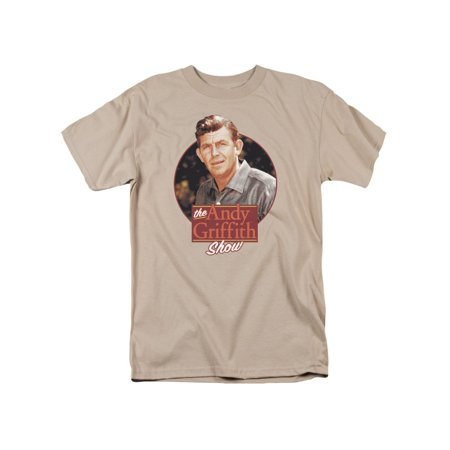 The Andy Griffith Show 1960's TV Sitcom Andy Circle Portrait Adult T-Shirt Tee](Halloween 1960)