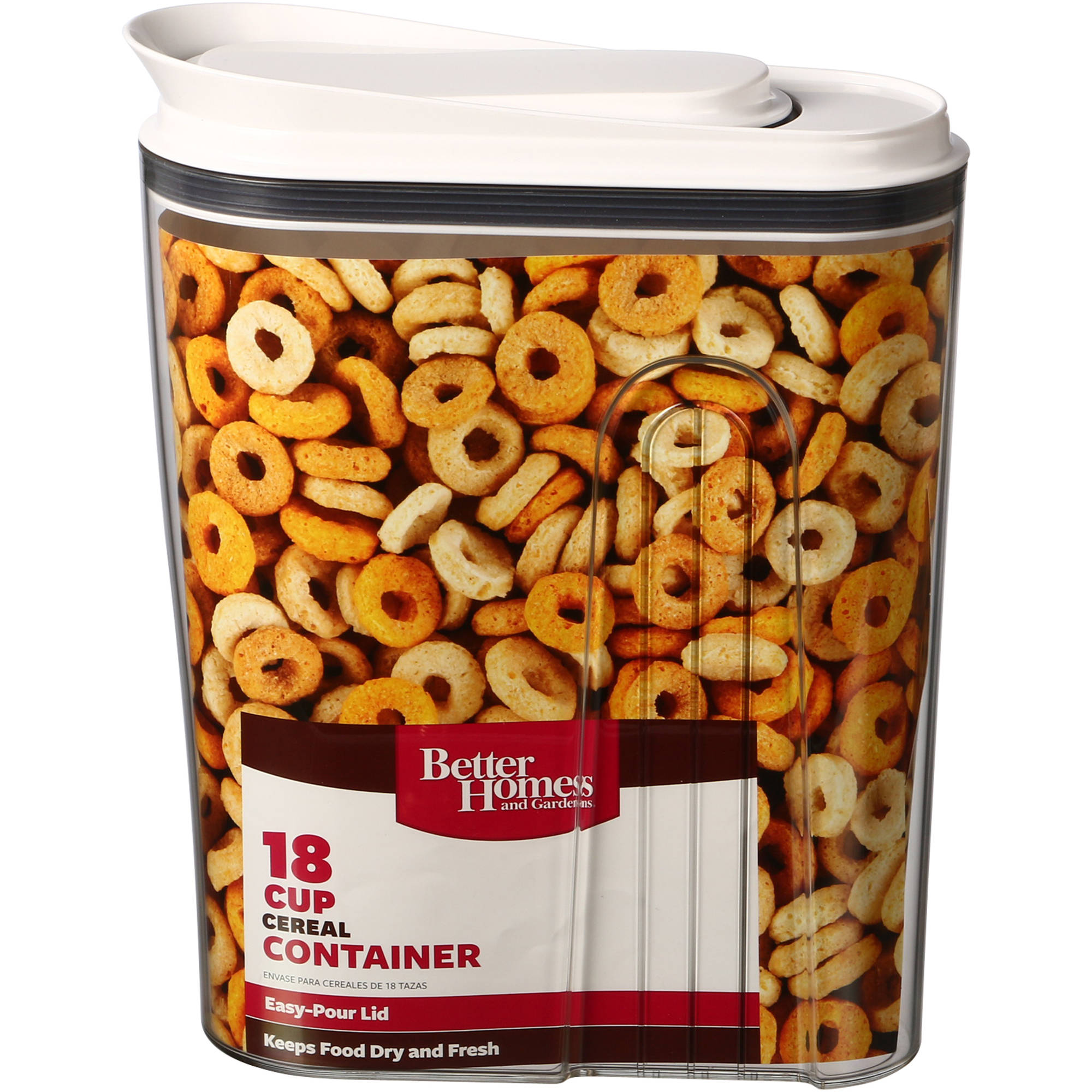 better homes and gardens cereal canister walmart