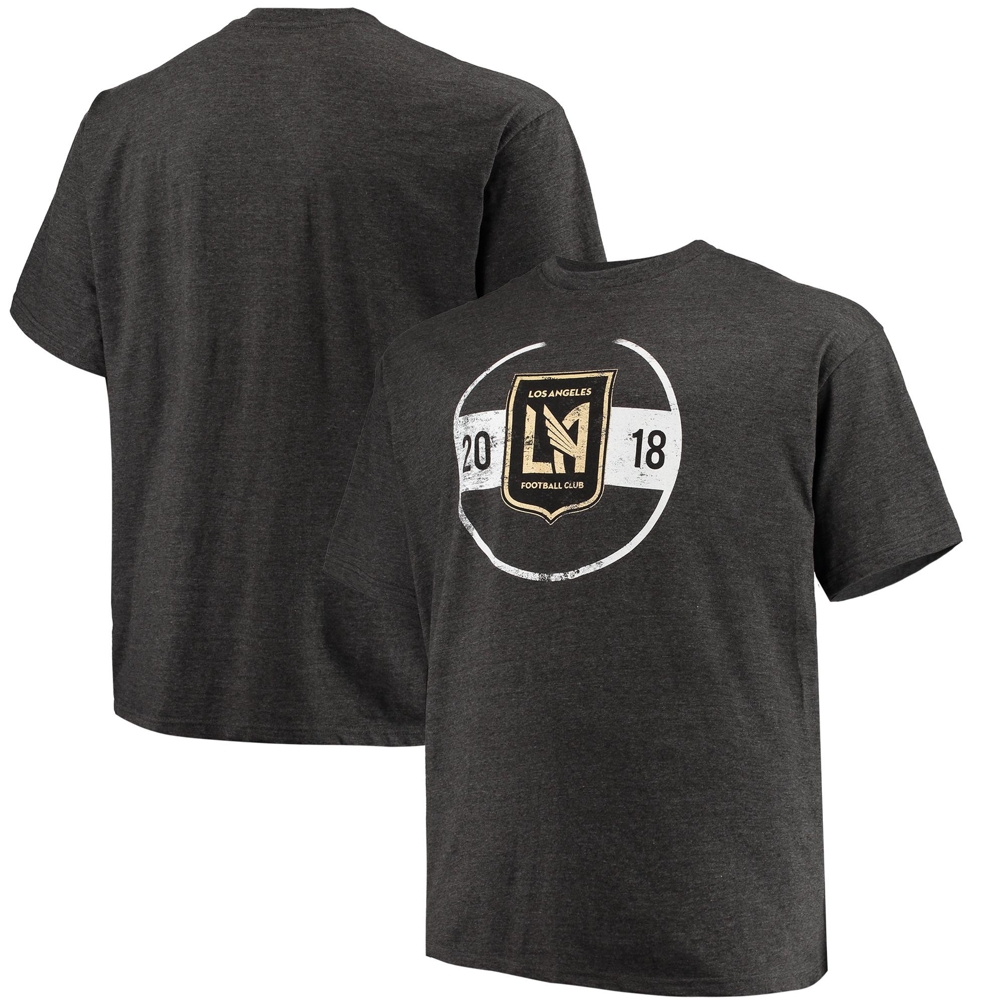 LAFC Majestic Big & Tall Every Minute T-Shirt - Charcoal