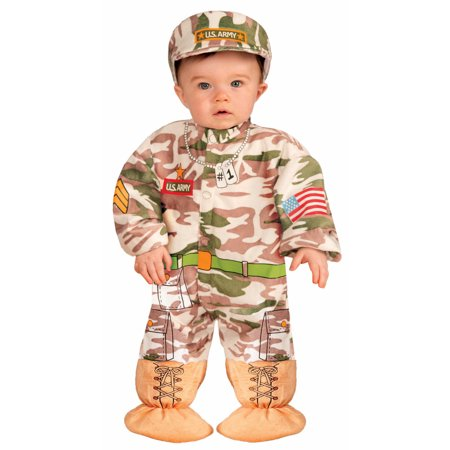 Forum Infant US Army Soldier Military Officer Baby Halloween Costume