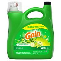 Gain + Aroma Boost Liquid Laundry Detergent, Original
