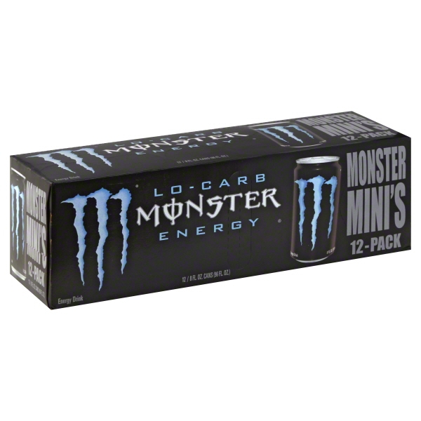 Monster Beverage Monster  Energy Drink, 12 ea