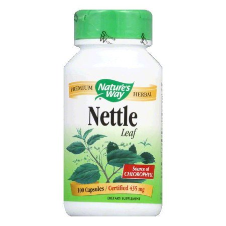 (Natures Way Capsules 435 mg Nettle Leaf, 100 ea)