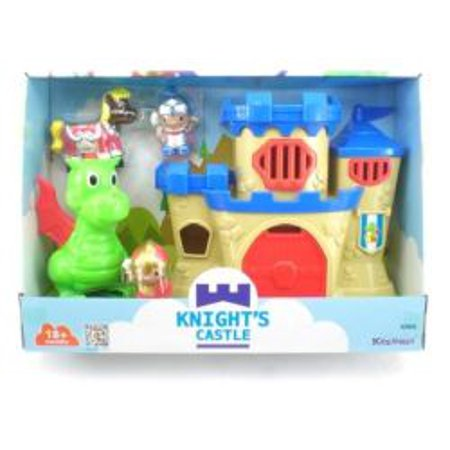 Knight Castle Set With Dragon ()