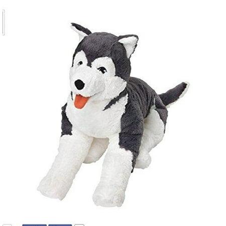 Ikea Livlig Soft Toy Husky Dog Siberian Stuffed Alaskan Malamute Eskimo (Alaskan Malamute Siberian Husky Mix Puppies For Sale)