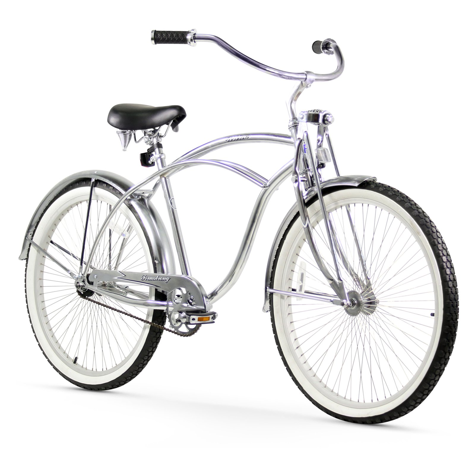 "Firmstrong 26"" Men's Urban LRD Beach Cruiser Bicycle, 1 Speed"