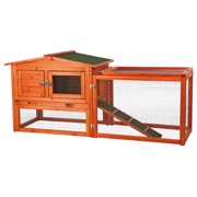 Trixie Pet Rabbit Hutch with Outdoor Run