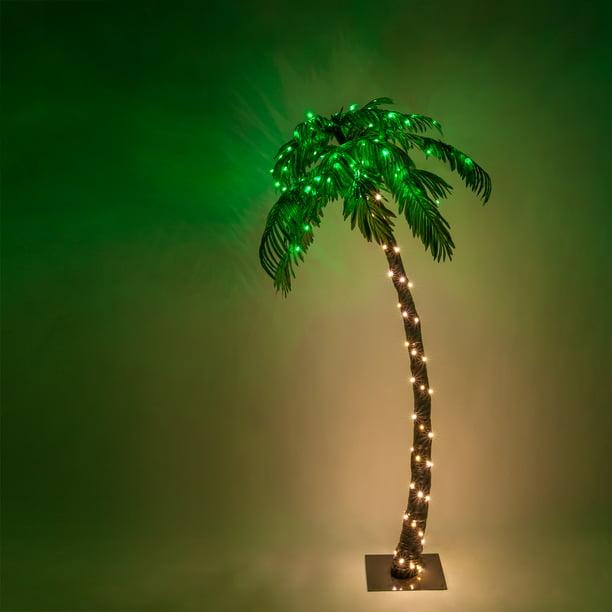 Wintergreen Lighting Multi Function, Outdoor Led Palm Tree