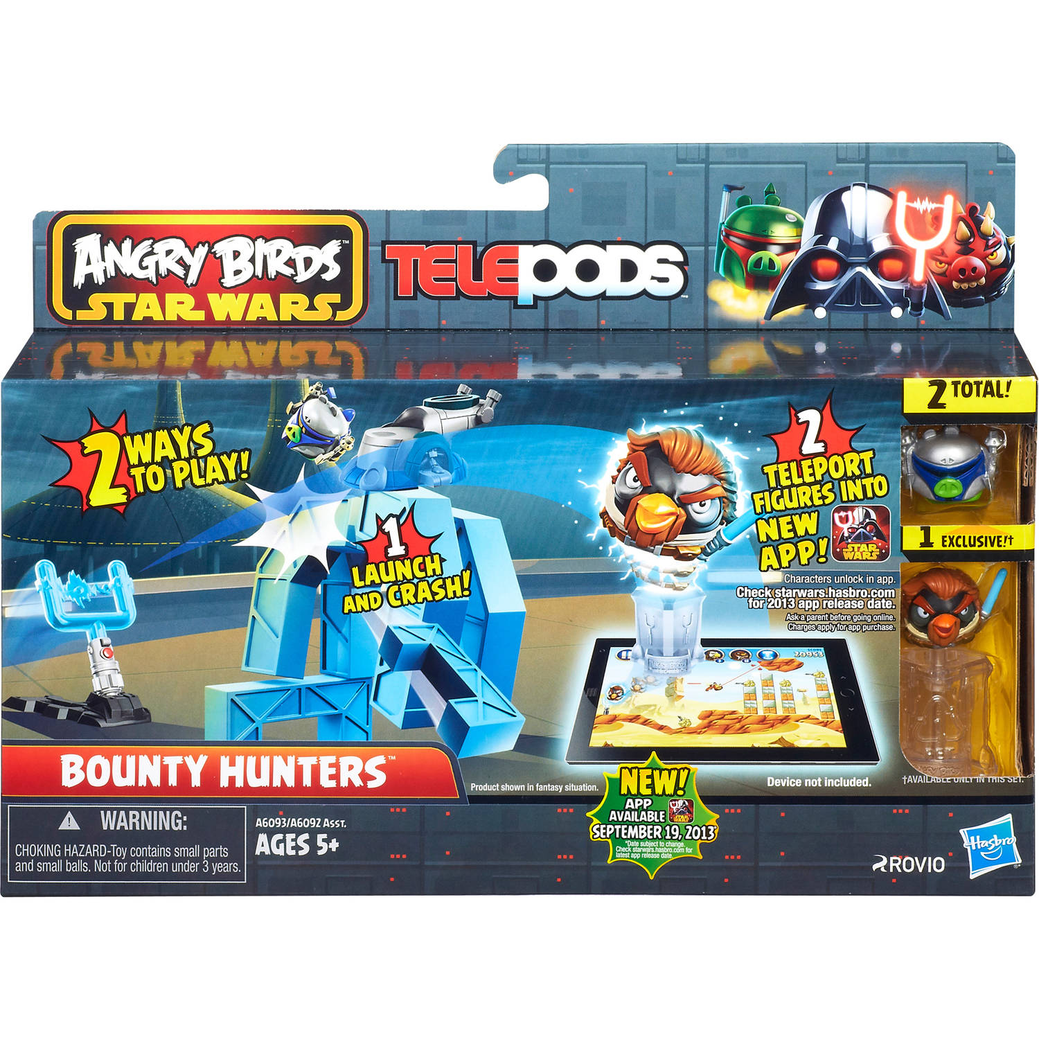 Angry Birds Star Wars Telepods Bounty Hunters Set