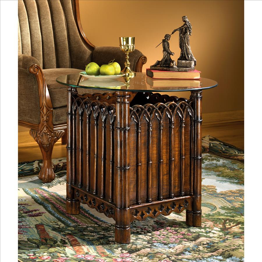 Essex House Gothic Display Side Table
