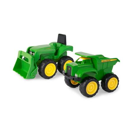 "John Deere Toy Tractor Set, 6"" Sandbox Duo, 2 Piece"
