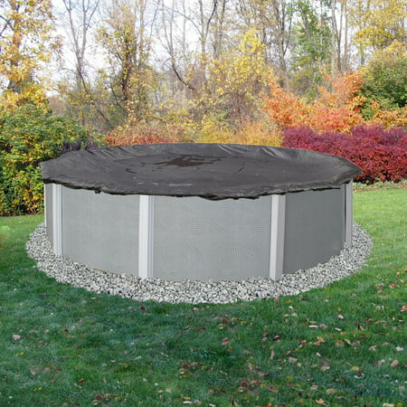 Blue Wave 30-ft Round Rugged Mesh Above Ground Pool Winter Cover